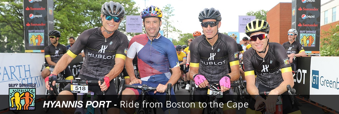 Hyannis Port Event riders at start line