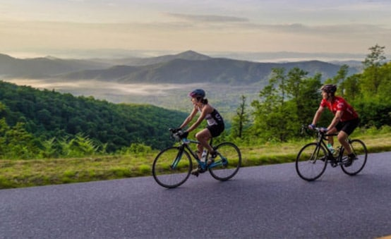 cycling in asheville